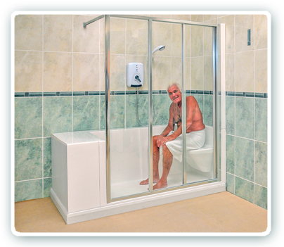 Monoluxe Shower Disabled Showers And Easy Access Showers For The Elderly