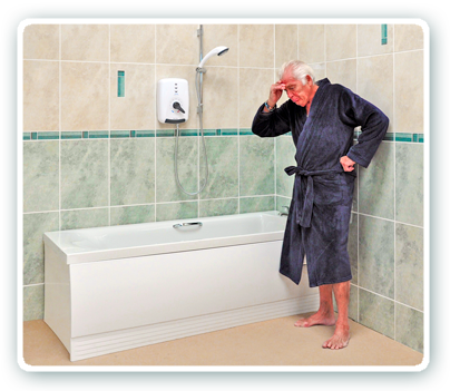 Incroyable The Well Known Problem To Older People . . . How To Get In And Out Of The  Bath Without Falling.