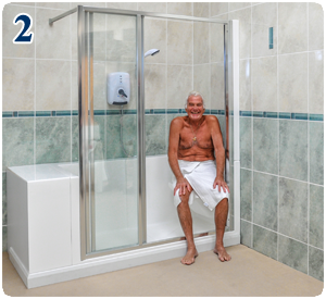 Monoluxe Shower Features Easy Access Showers For The Elderly And Disabled Showers