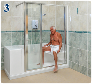 Monoluxe Shower Features | Easy Access Showers For The Elderly And .